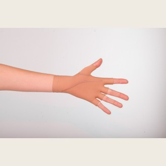 Компрессионная перчатка (артикул 512К-3) до запястья шитая