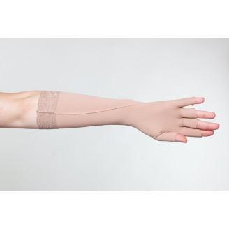 Компрессионная перчатка удлиненная шитая (артикул 512Д)