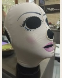 Маска для лица с принтом (арт 200P)